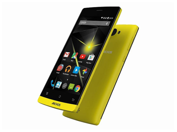 Archos 50 Diamond – Key Specifications: