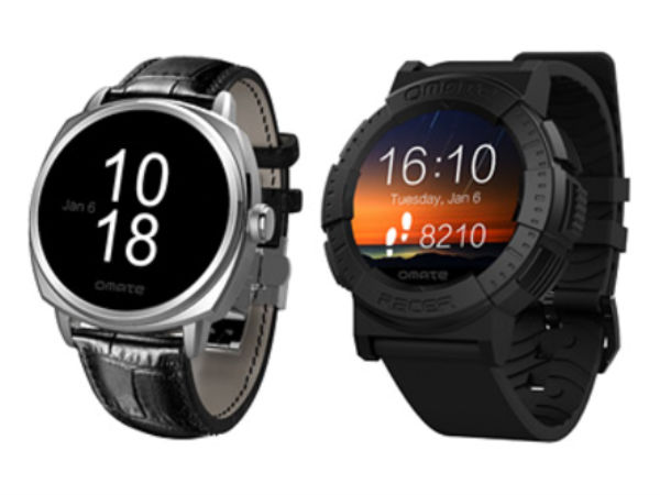 CES 2015: Omate Unveils Racer and Roma Smartwatches