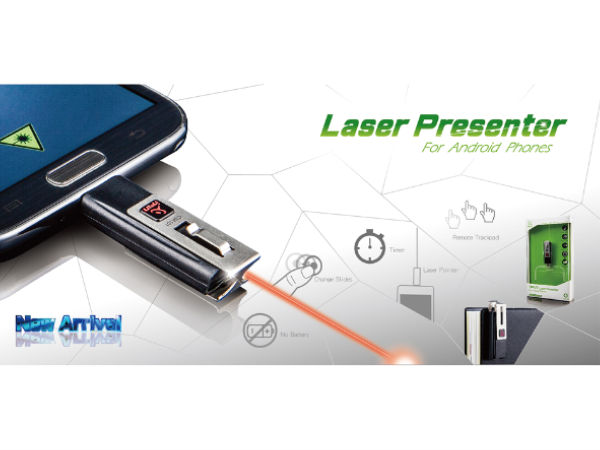 Smallest Laser Pointer to Hit Android and iOS Devices