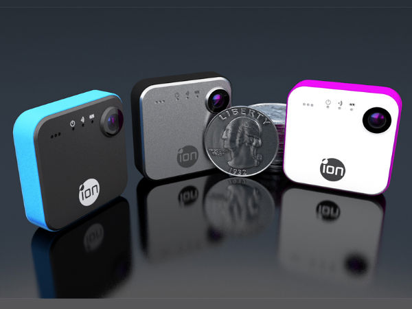 SnapCam By iON: Wearable Lifelogging Camera Launched at CES 2015