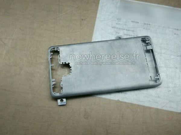 Samsung Galaxy S6 Rumor Update: New Leak Shows Off Metal Chassis