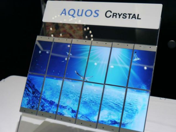 CES 2015: Sharp Aquos Crystal Smartphone Unveiled