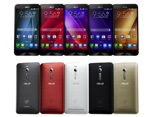 CES 2015: Asus Unveils Zenfone 2 With 4GB RAM, 5.5 inch Display