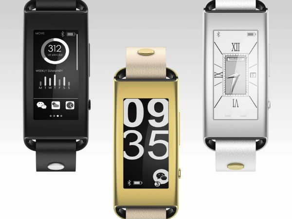 CES 2015: Lenovo Enters Wearable Segment With Launch of Vibe Band VB10