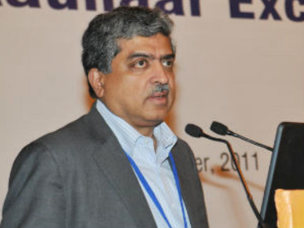 Nilekani Foresees Smartphones with Iris Cameras