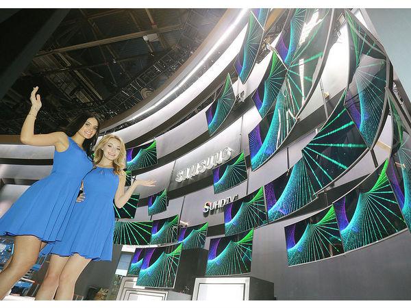 CES2015: Samsung Unveils Tizen based 4K SUHD TV