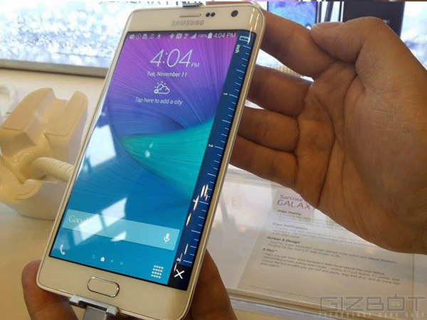 Samsung Galaxy S6 Note Edge Variant Comes to India for Testing [LEAK]