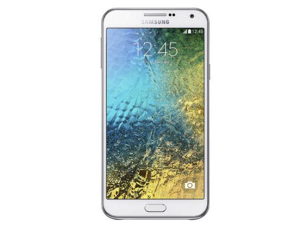 Samsung Releases Galaxy E5 and Galaxy E7 in India