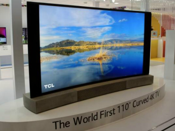 Chinese Firm to Unveil World's Largest Television