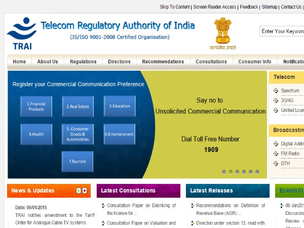 DoT Panel for higher 3G Base Price than Recommended by TRAI