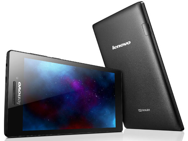Lenovo Tab 2 A7-10 & Tab 2 A7-30: 7 inch Tablet Range Announced at CES