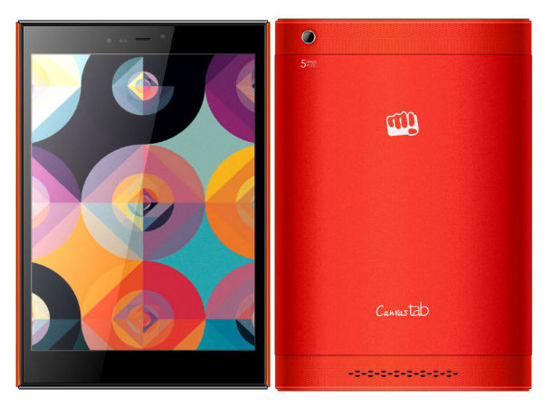 Micromax Canvas Breeze Tab P660 with 3G, Quad-Core CPU Launched