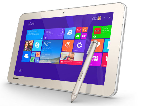 Toshiba Encore 2 Write Windows tablets Announced at CES 2015