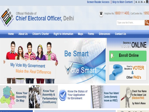 SMS Service to Find out if Name is Registered in Voters list