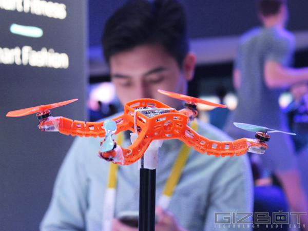 CES 2015: Intel unveils wrist-worn selfie drone