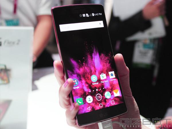 LG G Flex 2 First Look: The Most Powerful Curved Smartphone