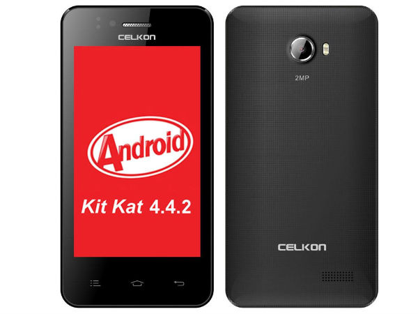 Celkon Campus A400 with 3G and Android KitKat Launched at Rs 2,999