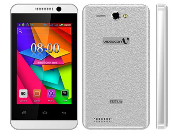 Videocon Launches New Smartphones