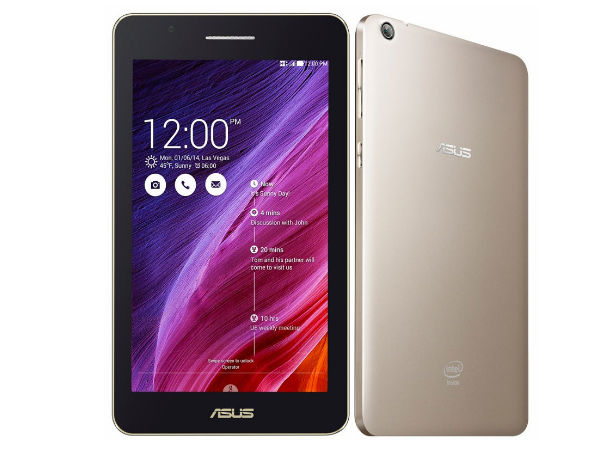 CES 2015: Asus Fonepad 7 (FE171CG) Launched With 7-inch Display