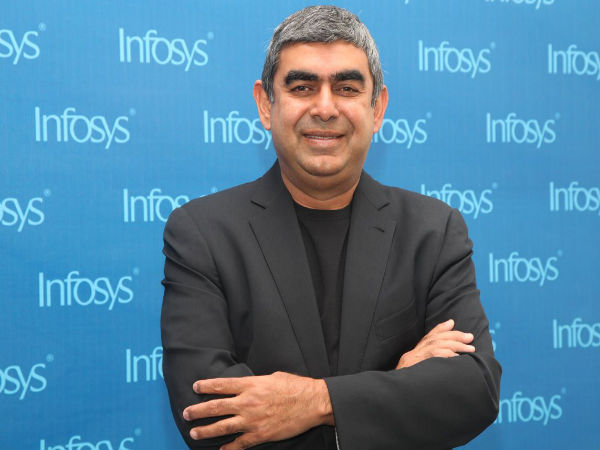 Infosys CEO Vishal Sikka Gifts iPhone 6 to Top 3,000 Employees