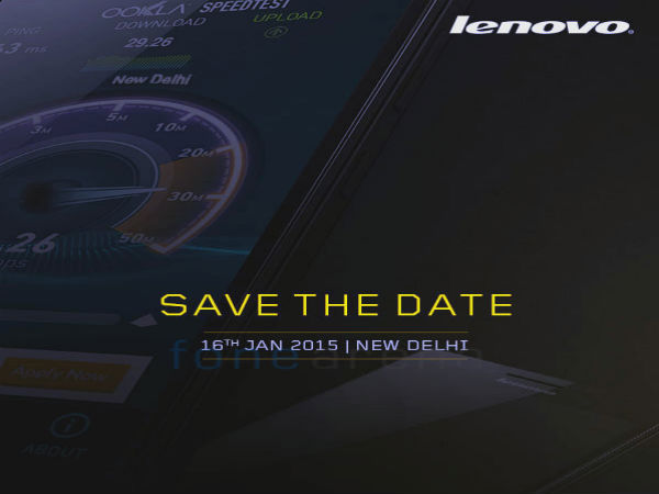 Lenovo A6000 Smartphone With 4G LTE Set for Launch in India Soon