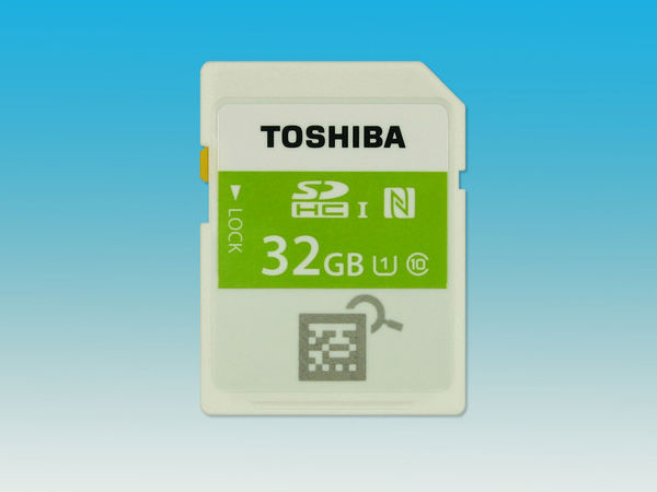 Toshiba Announces NFC-enabled Memory Card