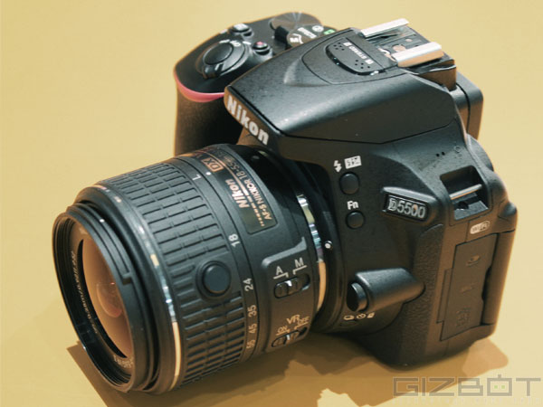 Specifications of Nikon D5500
