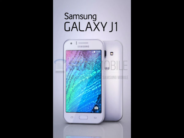 Samsung Galaxy J1: Purported Entry-Level Smartphone Leaked
