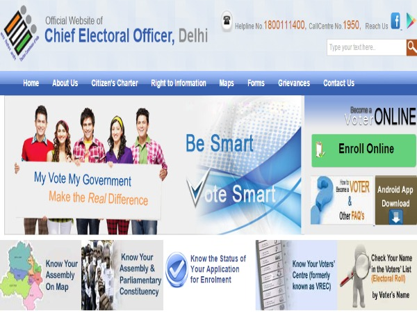 Delhiites Can Check their Names in Voters' List Through Phone