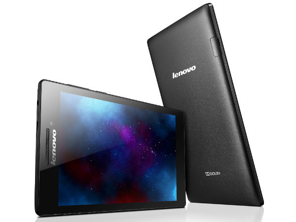 Lenovo Tab 2 A7-10 with Quad-Core CPU & 1GB RAM Launched at RS 4,999
