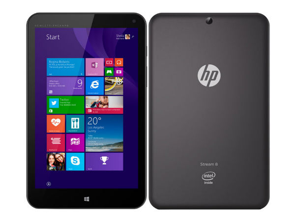 HP Unveils Range of Tablets, Notebooks and Mini Desktops