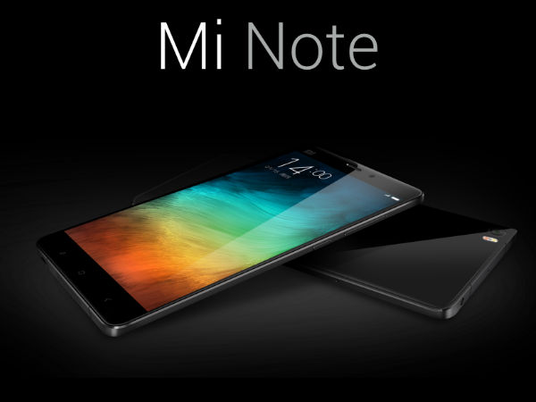 Xiaomi Mi Note Launched With 5.7-inch Display, Snapdragon 801 Chipset