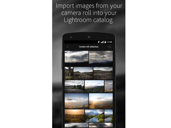 Adobe Launched Lightroom App for Android Users