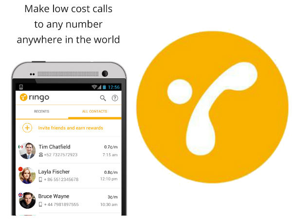 Ringo: International Calling App Launched in India