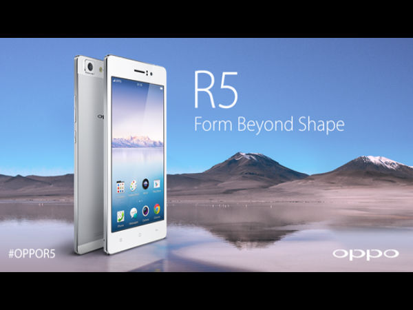 Oppo R5 Now Available To Buy in India at Rs 29,990