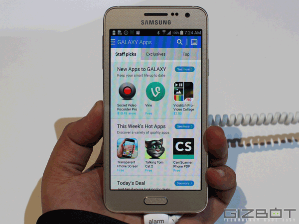 Samsung Galaxy A3 First Look