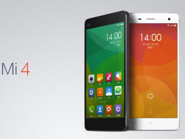 Xiaomi Mi 4 With 64GB Internal Memory