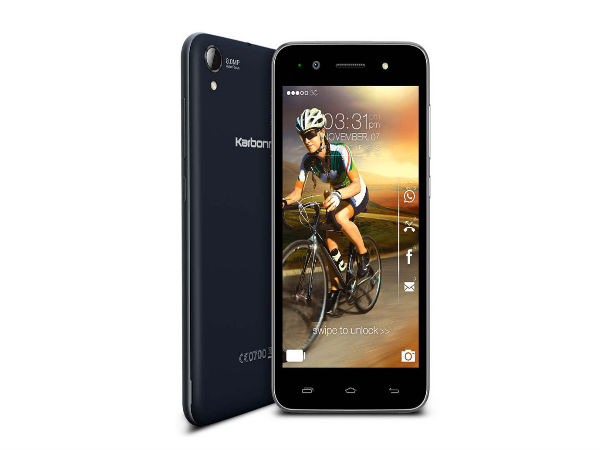 Karbonn MACHONE Titanium S310 with 8GB of Storage Launched