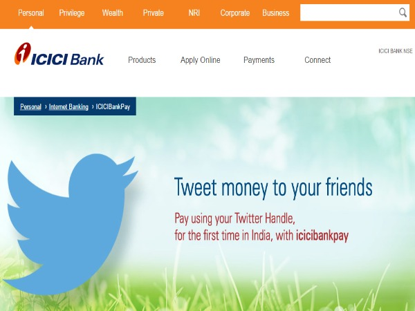 ICICI Bank launches service on Twitter