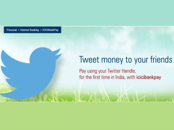 BankPay unique way of using the banking services with Twitter account