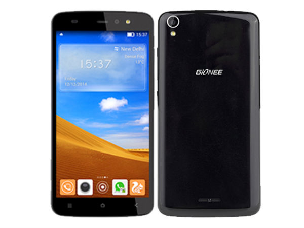Gionee Pioneer P6 with 2MP Front Camera with Flash, 3G Launched
