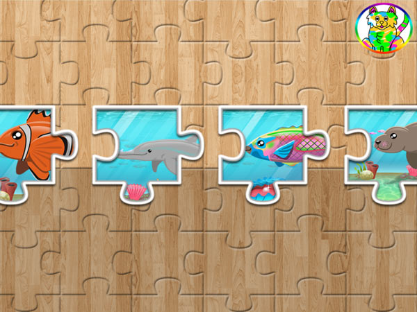 Underwater Jigsaw for Toddlers: