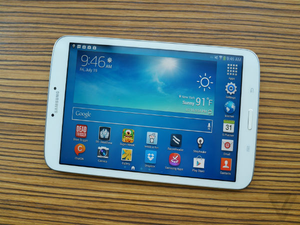 Samsung Testing New 7-Inch Tablet With 4:3 Aspect Display Ratio