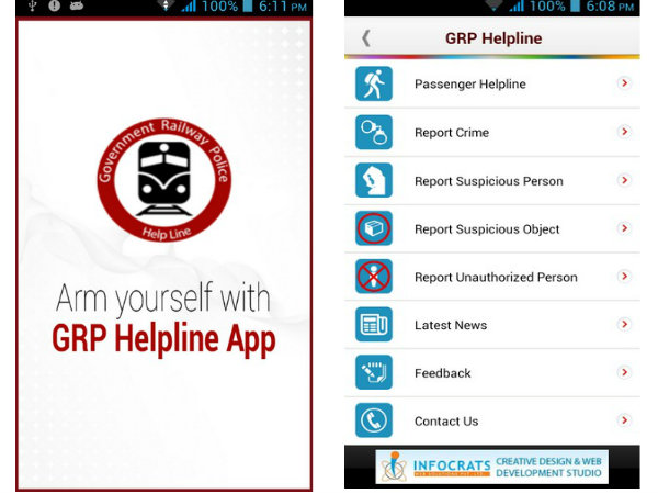 MP: Gaur launches GRP Helpline App for Rail Passenger Safety