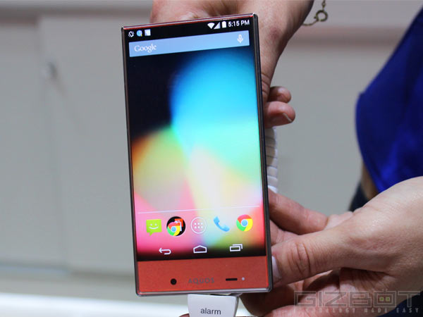 Sharp Aquos Crystal First Look