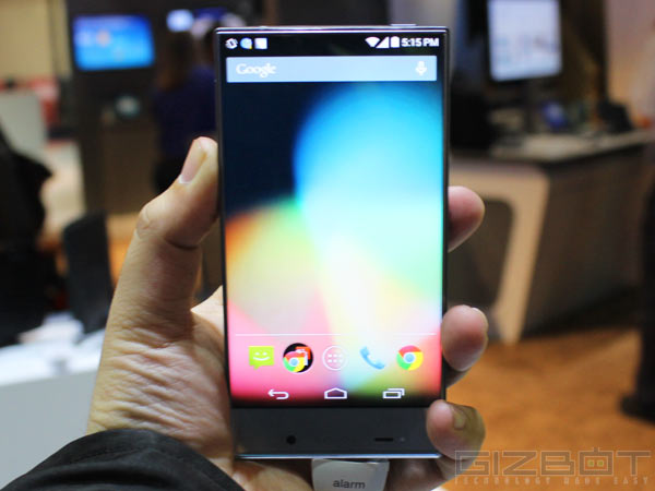Sharp Aquos Crystal First Look: Here's a Smartphone With Almost No