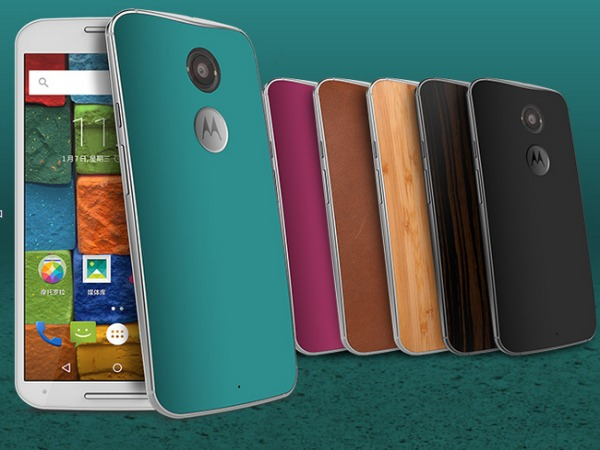 Motorola unveils 3 Smartphones for return to China