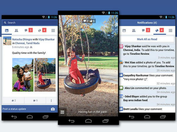 Facebook Lite' launched for low-end Android phones