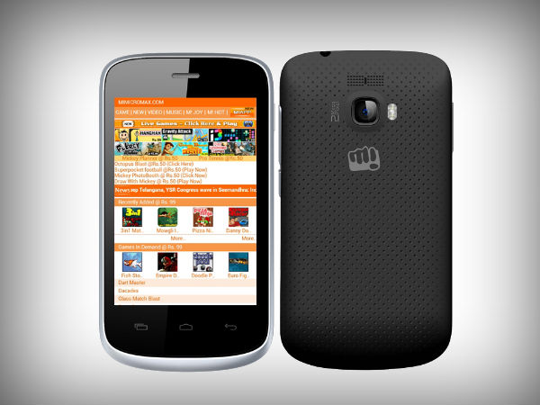 you're micromax android phones below 3000 rs used the dial-in