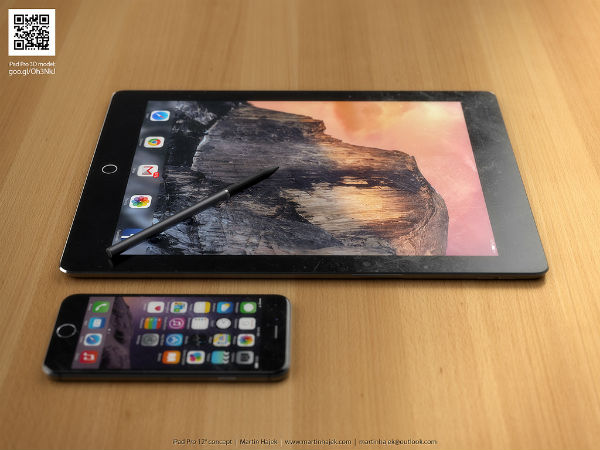 The Apple iPad Pro 12 Inch Might Look Like This [PICTURES]